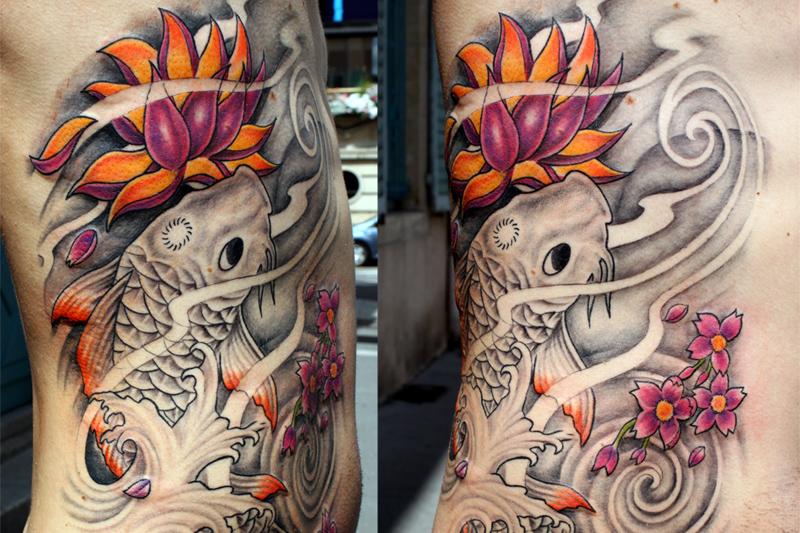 Tatoues A Color Trip Tatouages Et Piercings A Lyon